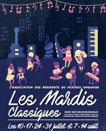 Les MARDIS CLASSIQUES 2018