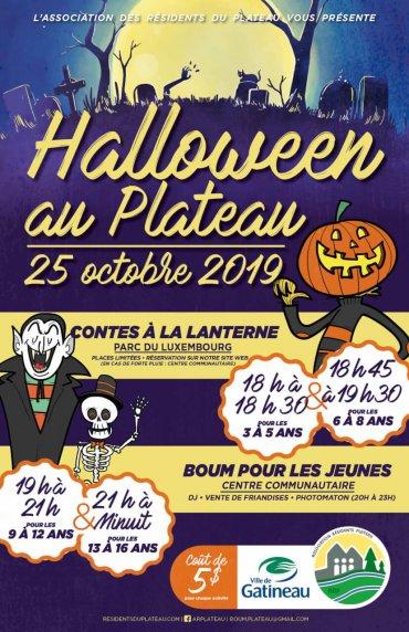 Festivités pour Halloween