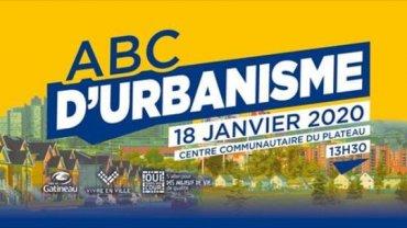 Samedi 18 janvier: L'ABC de l'urbanisme